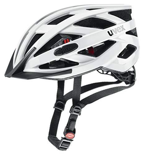 Uvex Unisex– Erwachsene, i-vo 3D Fahrradhelm, white, 52-57 cm