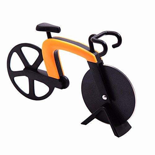 Pizzaschneider in Form eines Fahrrads als Geschenkidee