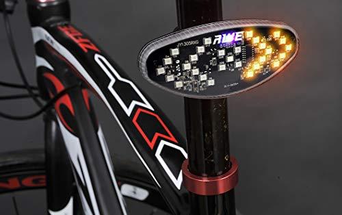 Blinker fürs Fahrrad mit Rückleuchte