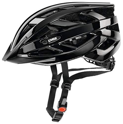 uvex Unisex– Erwachsene, i-vo Fahrradhelm, black, 52-57 cm