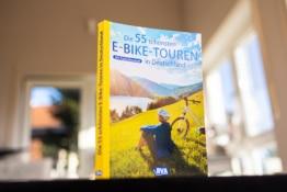 Die 55 schönsten E-Bike Touren in Deutschland mit Cover