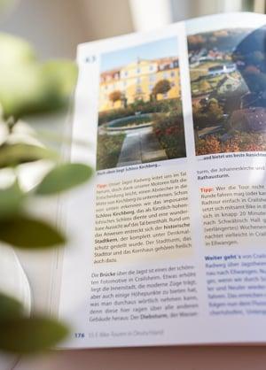 Infoskasten und viele Tipps des Buches Die 55 schönsten E-Bike Touren in Deutschland
