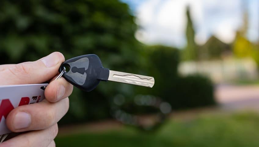 Aaron Foldylock Compact mit 3 Schlüsseln