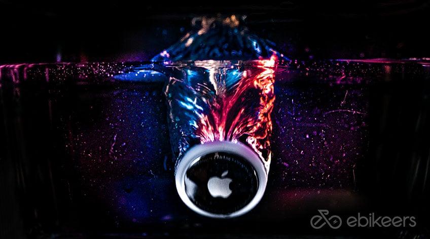 Im Apple AirTag Test haben wir geprüft ob es wirklich wasserfest ist.