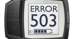 Bosch E-Bike Fehlercode 503