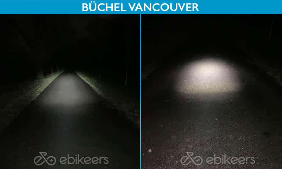 Die Büchel Vancouver hat eine gute Ausleuchtung