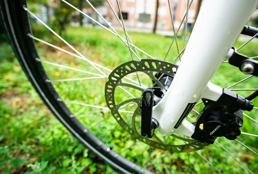E-Bike Test – hydraulische Bremse ist ein Muss