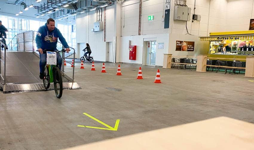 RAD Hamburg – Parcours für E-Bikes