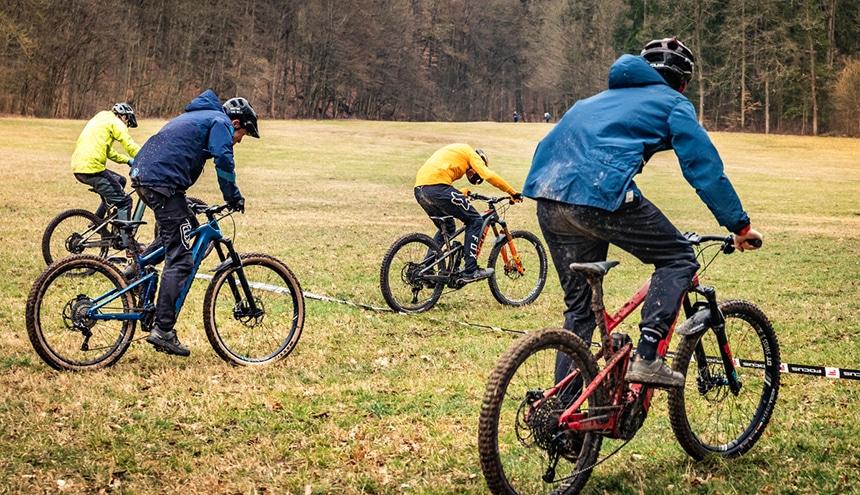 E-Mountainbike Test – Unterschiede im verbauten Material