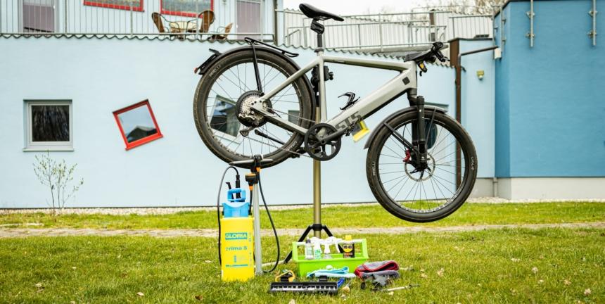 E-Bike reinigen - Anleitung