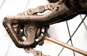 Das Schaltwerk muss beim E-Bike auch gereinigt werden
