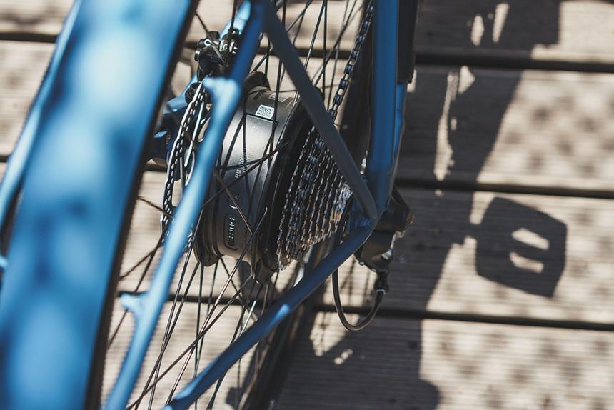 Heckmotor von Bafang im E-Bike von Kalkhoff Berleen