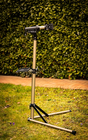Fahrradmontageständer CXWXC Test – so sieht der Reparaturständer ohne Fahrrad aus