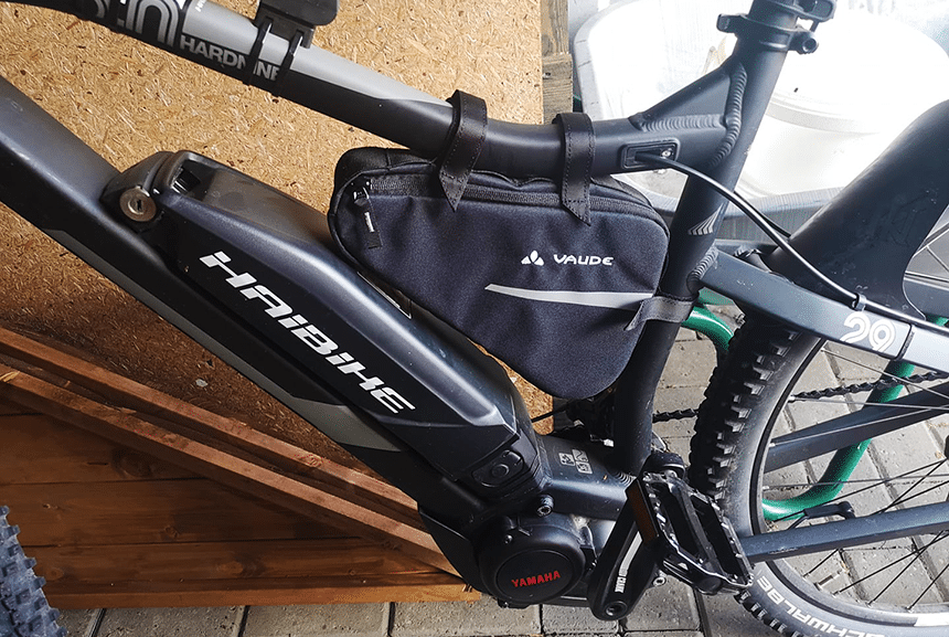 Rahmentaschen im Fahrradtaschen Test