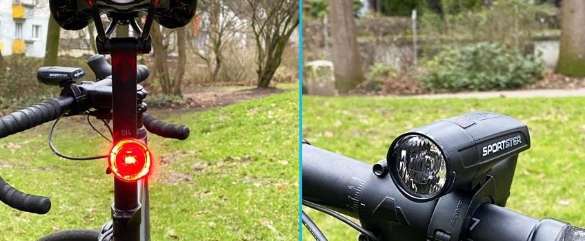 Sigma Sportster Set im Fahrradbeleuchtung Test