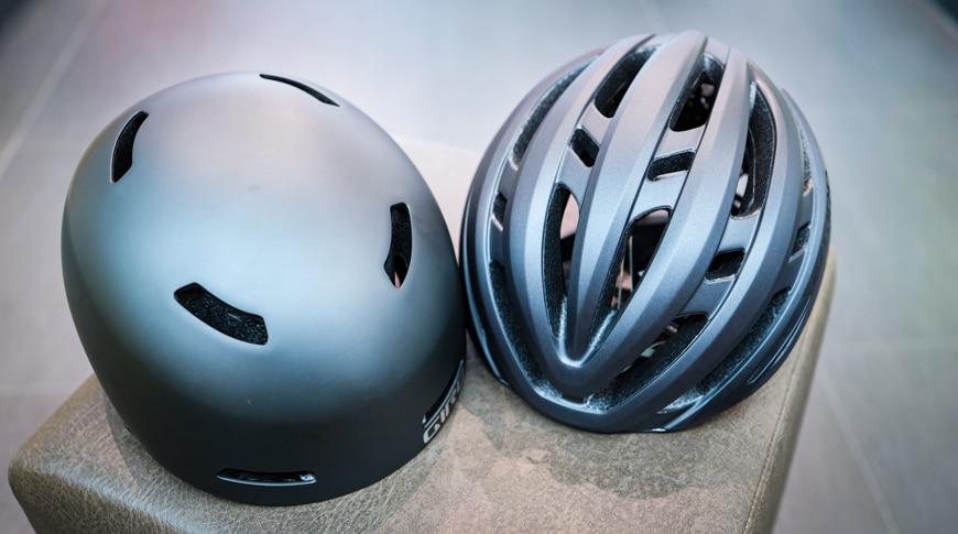 Mikroschalen- vs. Hartschalenhelme im Fahrradhelm Vergleich