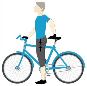Fahrrad Rahmen berechnen ohne Formel