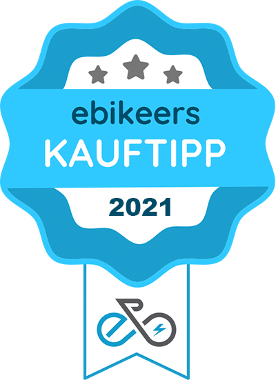 ebikeers KaufTipp Award für das Aaron Folylock Compact