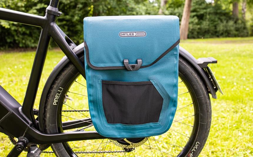 Fahrradtaschen Test: Die Ortlieb E-Mate ist eine gute Wahl für die Stadt