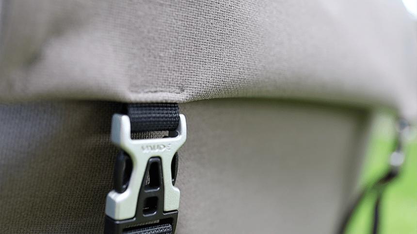 Corodura ist ein stoffähnliches Gewebe für Fharradtaschen