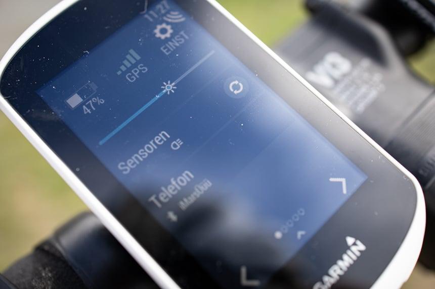 Garmin Varia RTL516 Test – das Koppeln der Sensoren geht schnell
