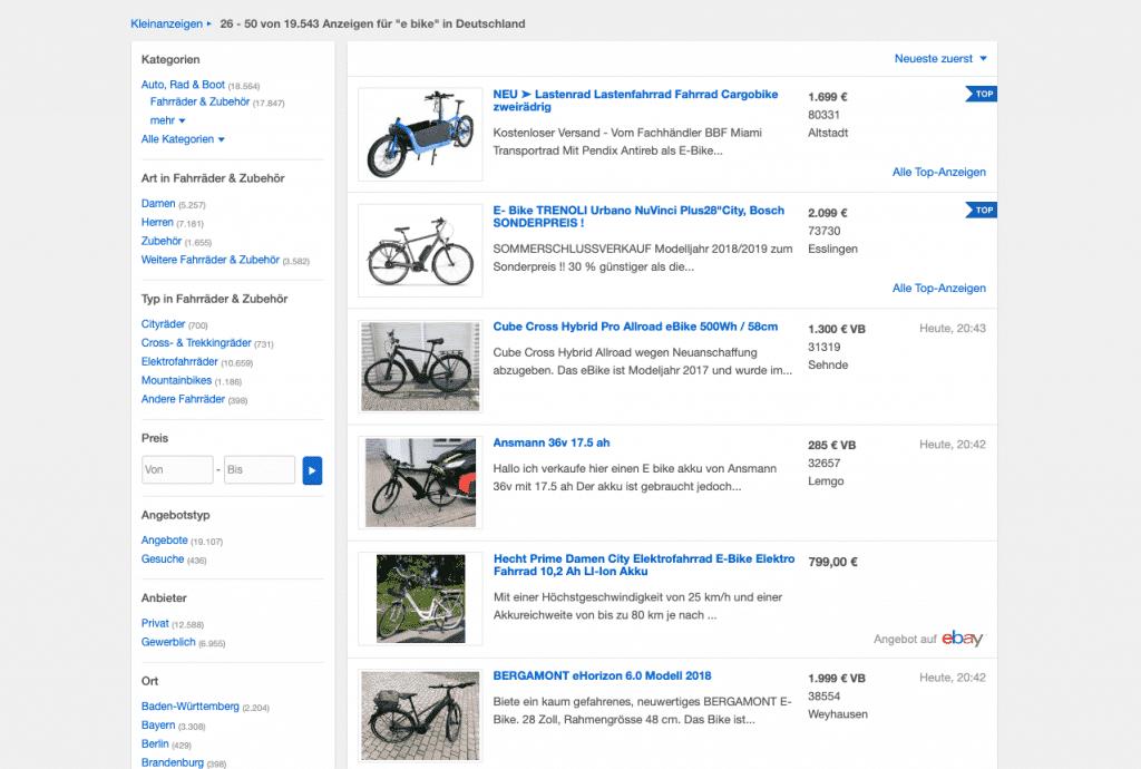 Gebrauchte E-Bikes sind günstig. Ob sich der Kauf lohnt verraten wir in unserem Artikel