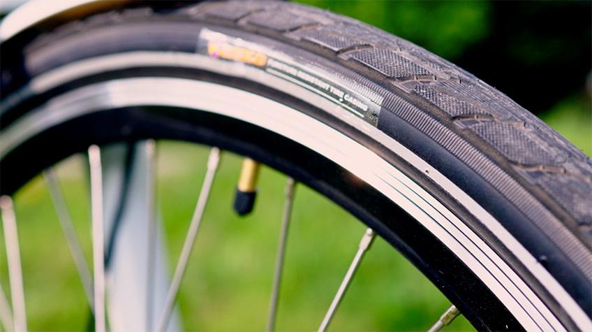 Himiway City Pedelec Test – pannensichere Reifen von K-shield