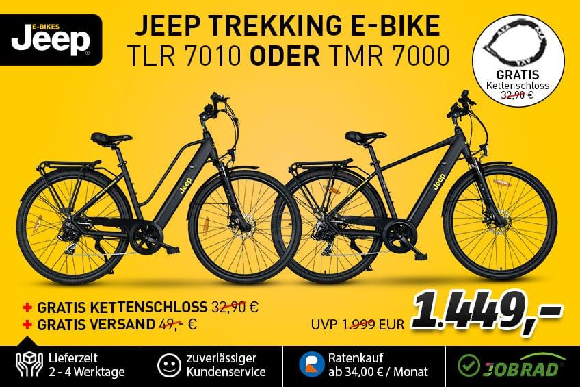 Jeep Deal TMR 7000 und TLR 7010 in Angebot
