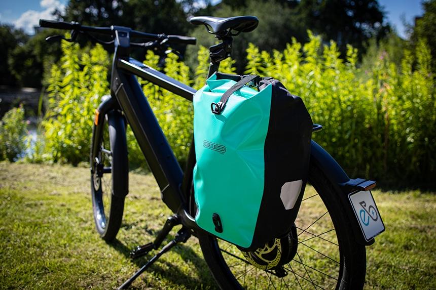 Die Back-Roller Free Fahrradtasche spielt ihre Stärken im Alltag aus.