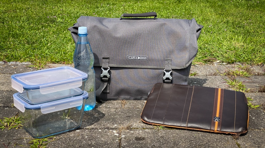 Ortlieb Commuter Bag Two Test –Das Volumen fasst 20 Liter