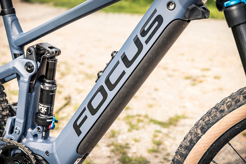 E-Bike Test – Integration des Akkus in den Rahmen beim Cube Jam Pedelec