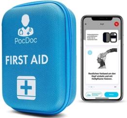 Pocdoc ist eine intelligentes Erste-Hilfe Set mit App
