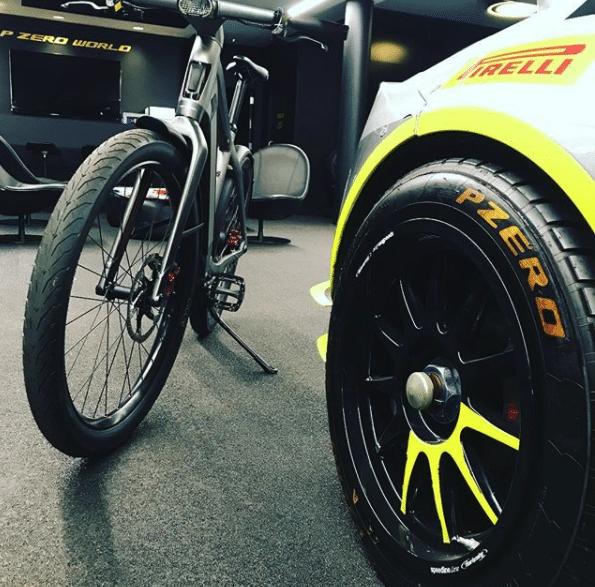 S-Pedelec Test – Auch die Reifen sind Sonderanfertitung