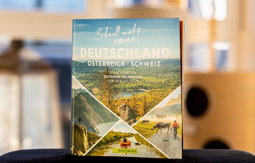 Cover des Buches Schnell mal raus: Deutschland, Österreich, Schweiz