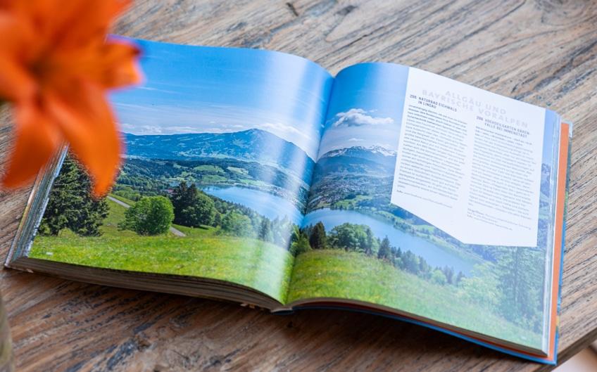 Buchvorstellung: Schnell mal raus: Deutschland, Österreich, Schweiz mit toller Gestaltung