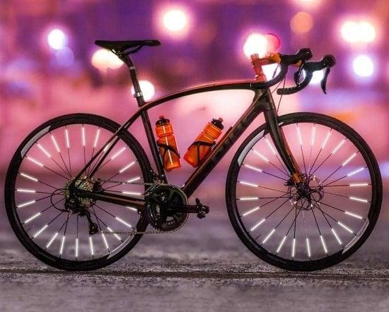 Geschenk für Radler – Speichenreflektoren fürs Rad und E-Bike