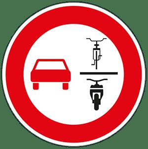 Neues Verkehrsschild: Überholverbot von Zweirädern wie E-Bikes, Fahrräder und Co