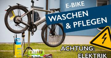 E-Bike pflegen Teaserbild