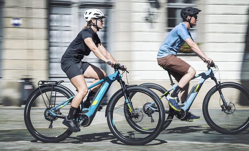 Trekking E-Bike Test – Federung ist Komfort