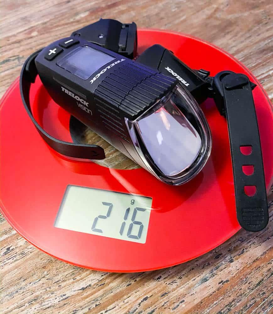 Gewicht des Trelock 760 Vision Systems