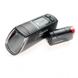 Trelock Vision 760 und Reego Lichtkegel im Fahrradbeleuchtung Test