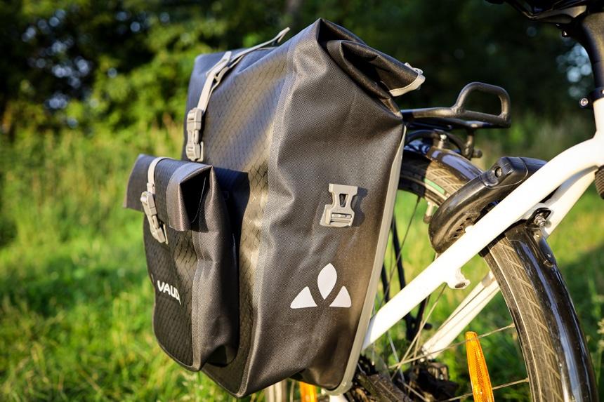 Die perfekte Fahrradtasche für lange Touren – Vaude Aqua Back Plus.