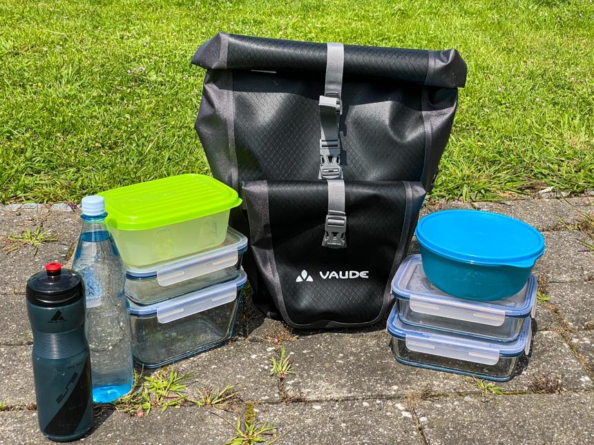 Das Volumen der Vaude Aqua Back Plus ist beeindruckend