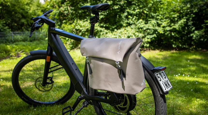 Fahrradtasche Vaude Augsburg III am Stromer E-Bike