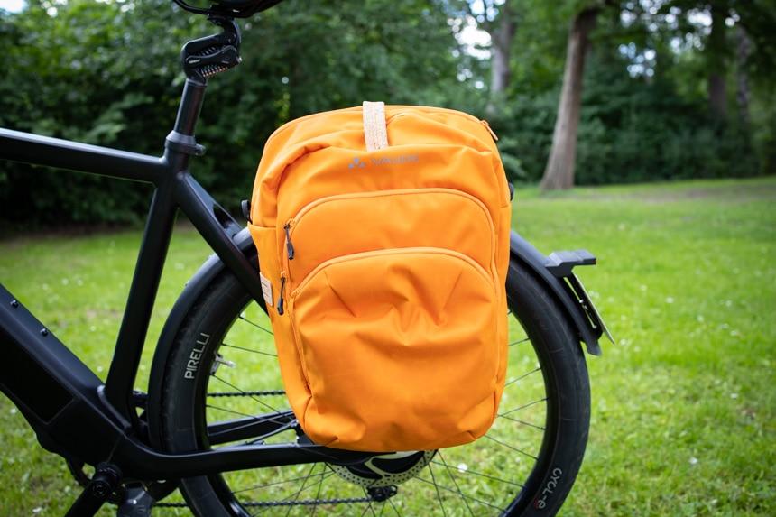 Vaude eBack Test – Fahrradtasche am Rad