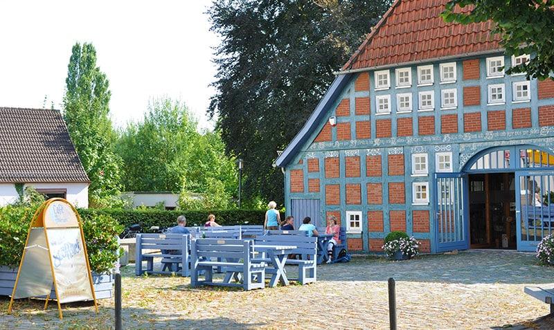 Cafe Clüverhaus am Weserradweg